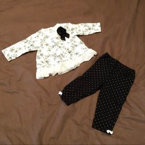 Little Me Matching Sets - Little Me Shirt and Pant Set